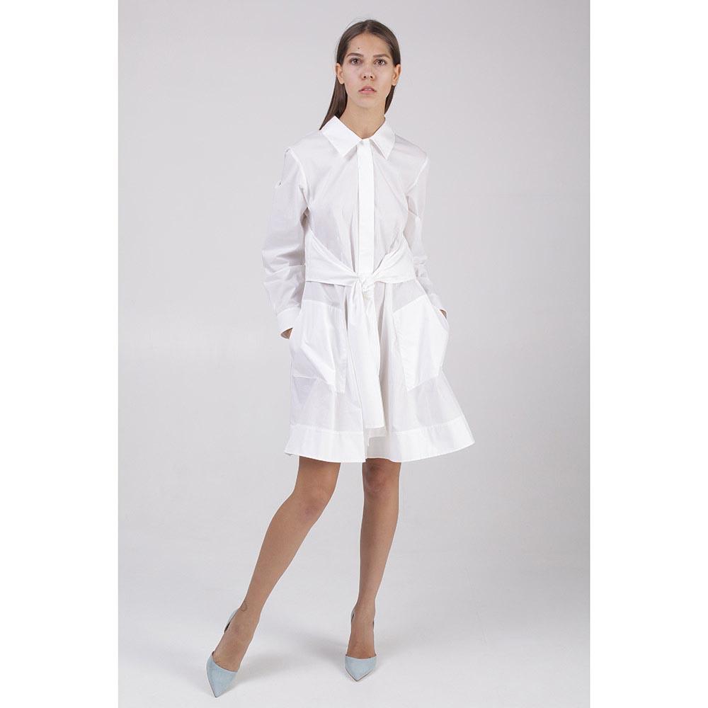Платье белое коттоновое Paule Ka