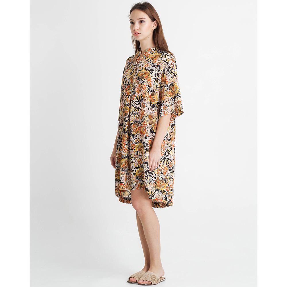 Платье-рубашка Sophie с растительным принтом