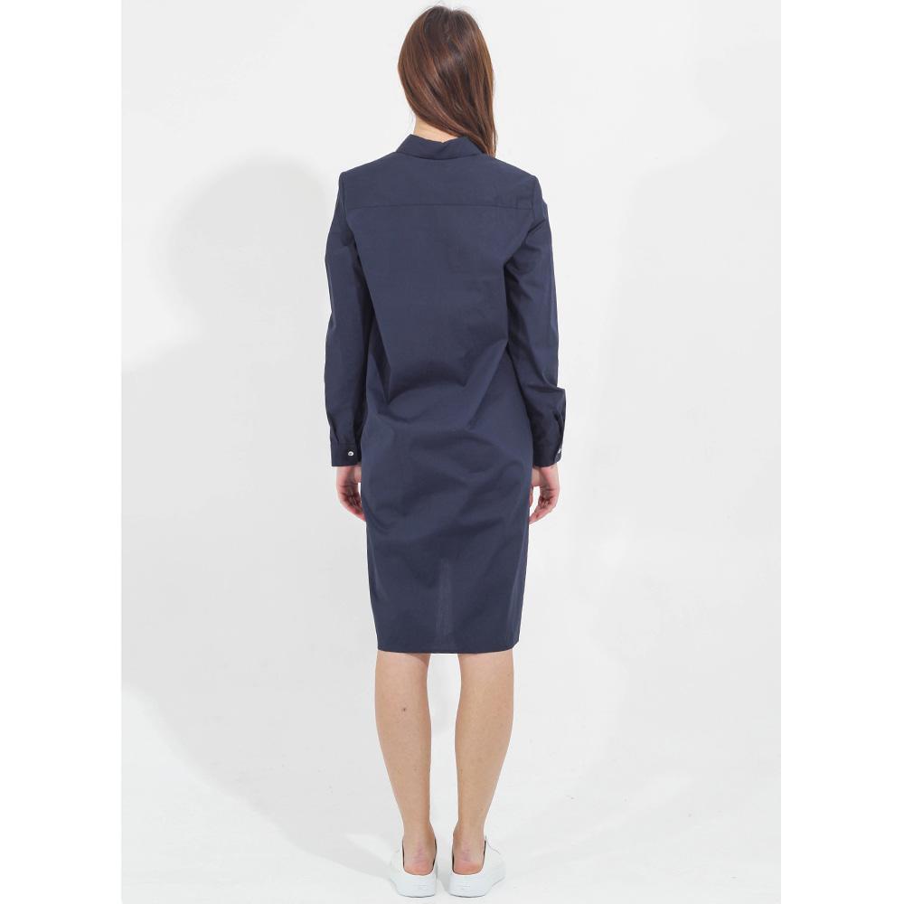 Платье-рубашка Sophie синего цвета