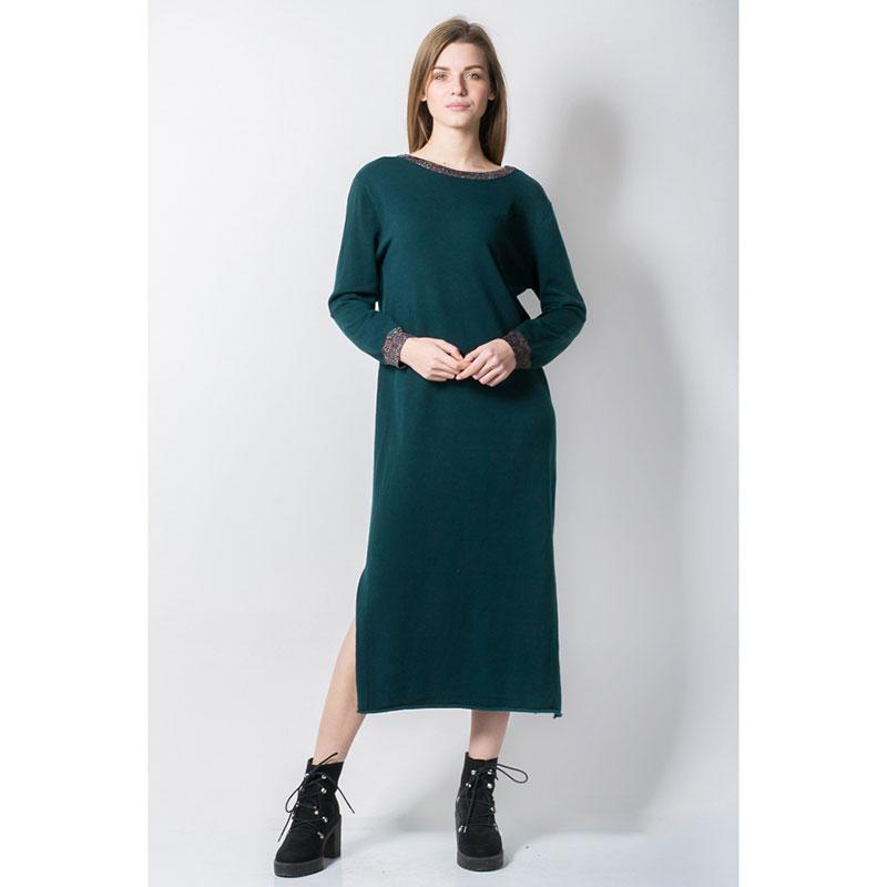 Свободное платье Rosa Shock с длинными рукавами