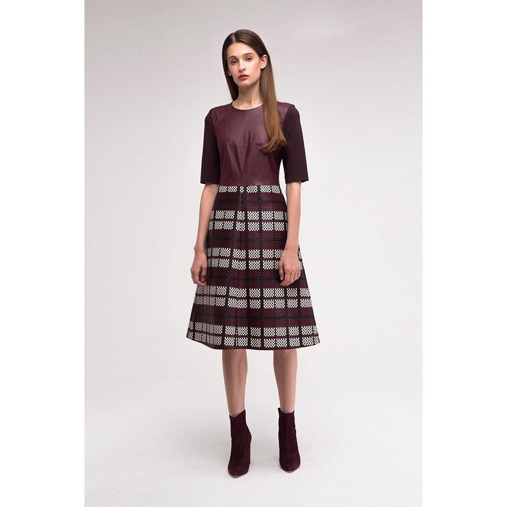 Платье Shako с фактурной юбкой
