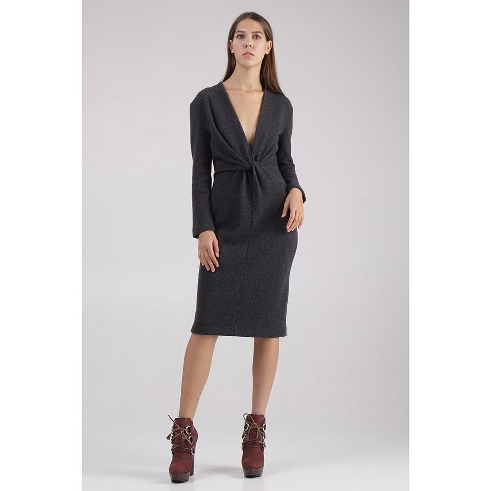 Платье Givenchy серого цвета