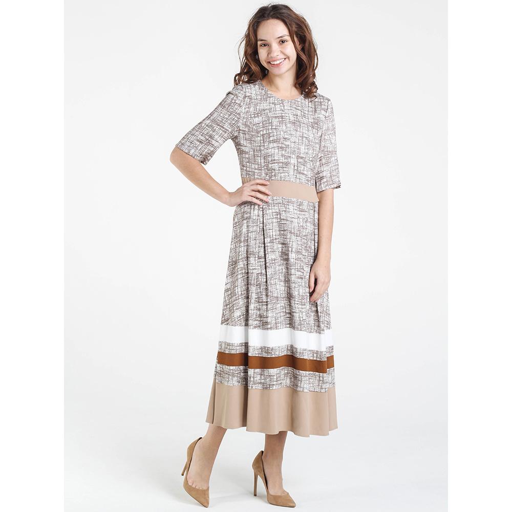 Платье Shako с пышной юбкой бежевого цвета