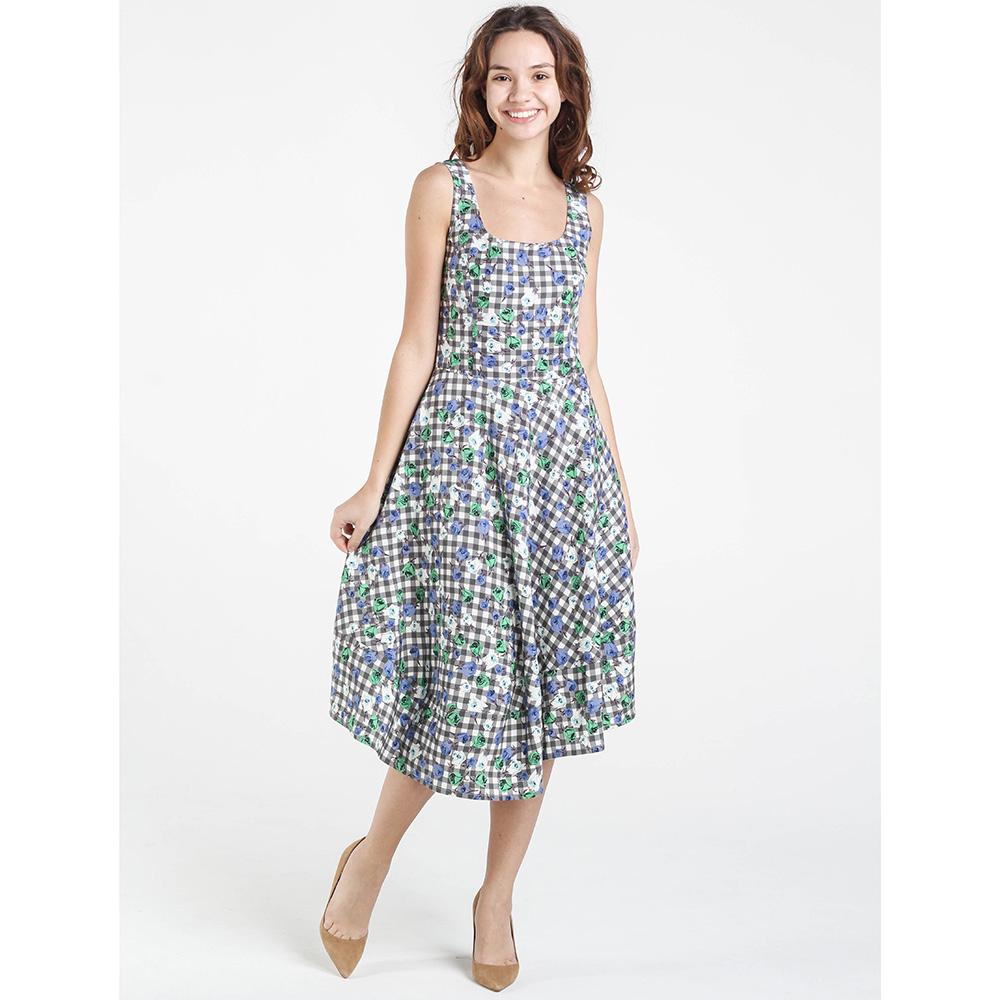 Платье Shako с ассиметричной пышной юбкой