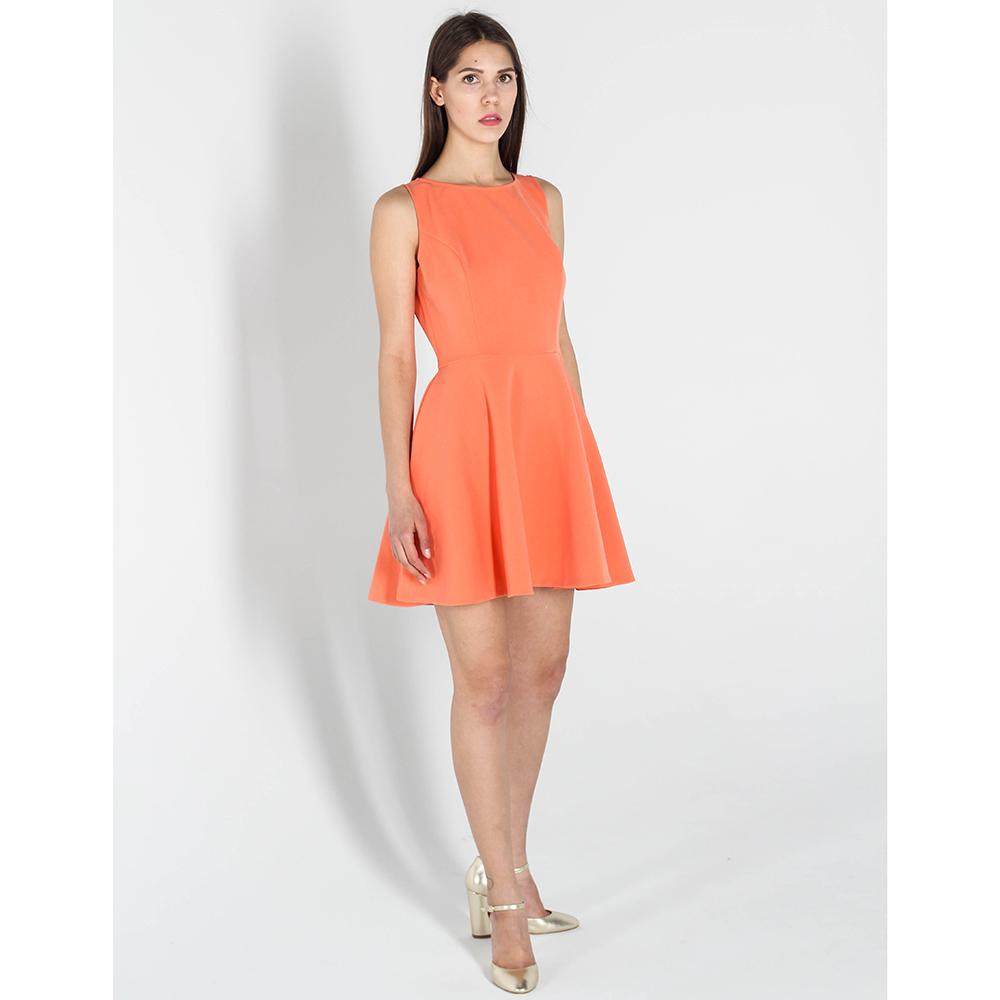Оранжевое платье- беби долл Kristina Mamedova