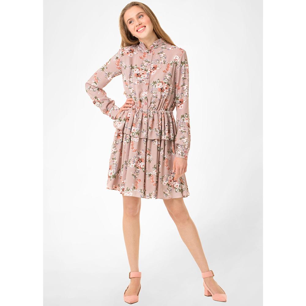 Платье-рубашка WeAnnaBe с цветочным принтом