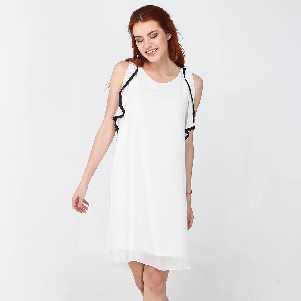 Белое платье Blugirl Blumarine до колен