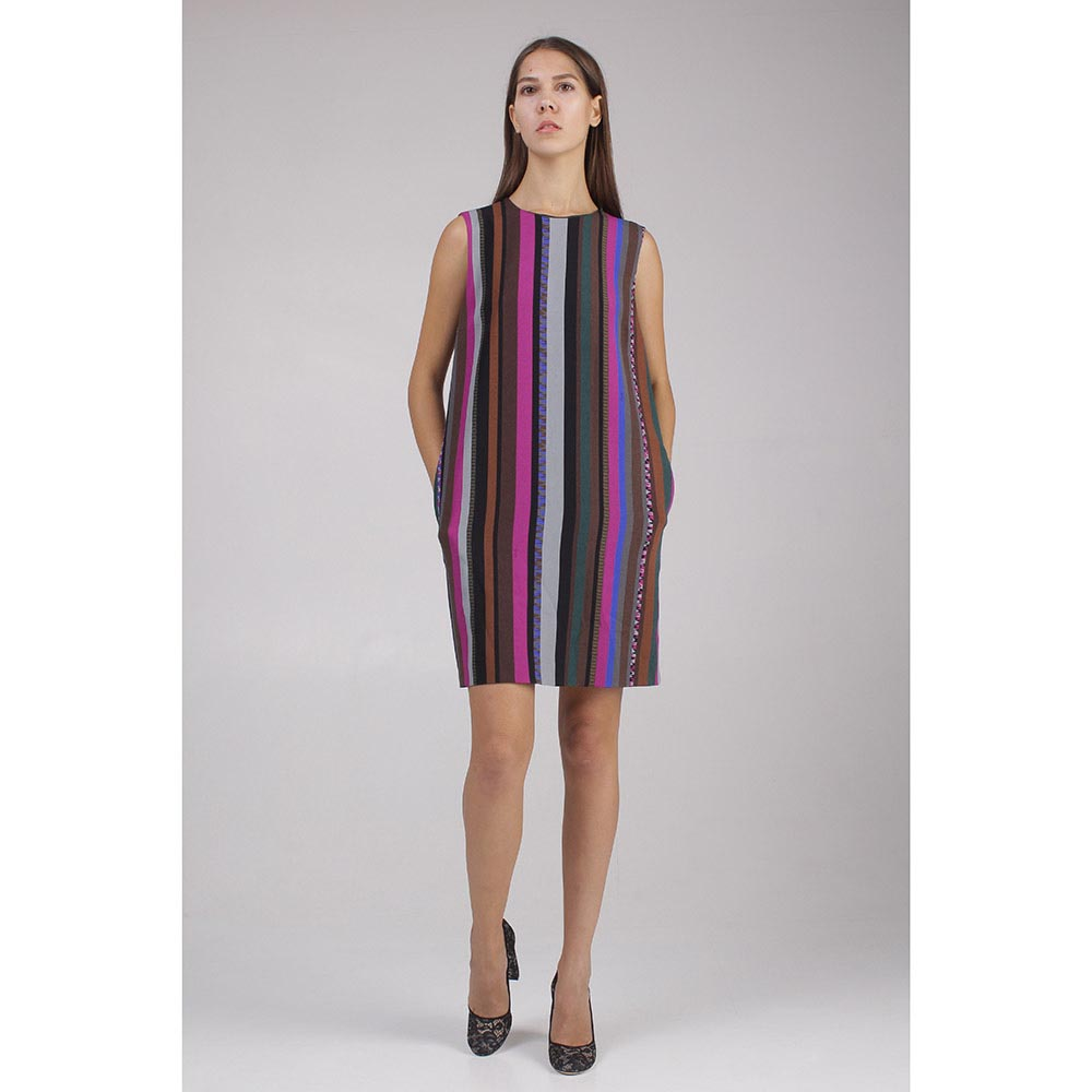 Платье Emilio Pucci в цветную полосу