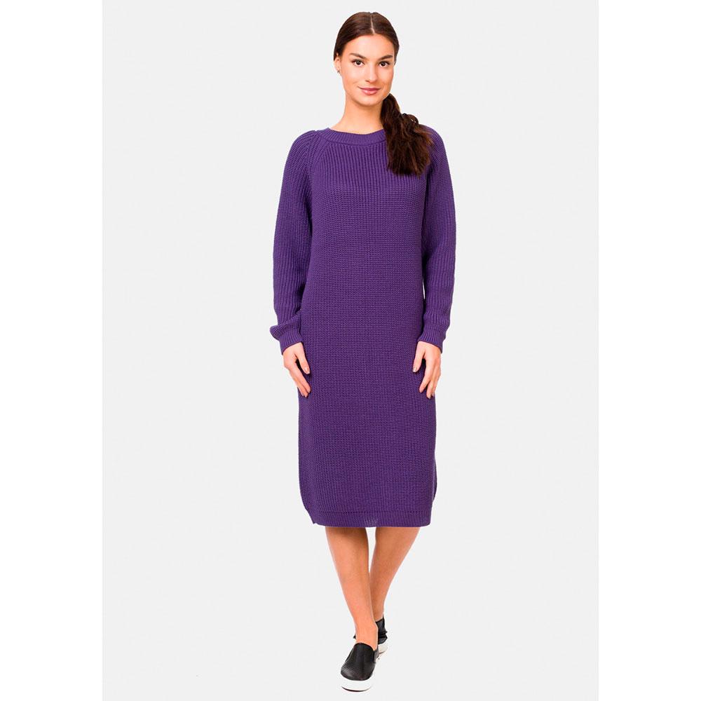 Трикотажное платье RITO фиолетового цвета