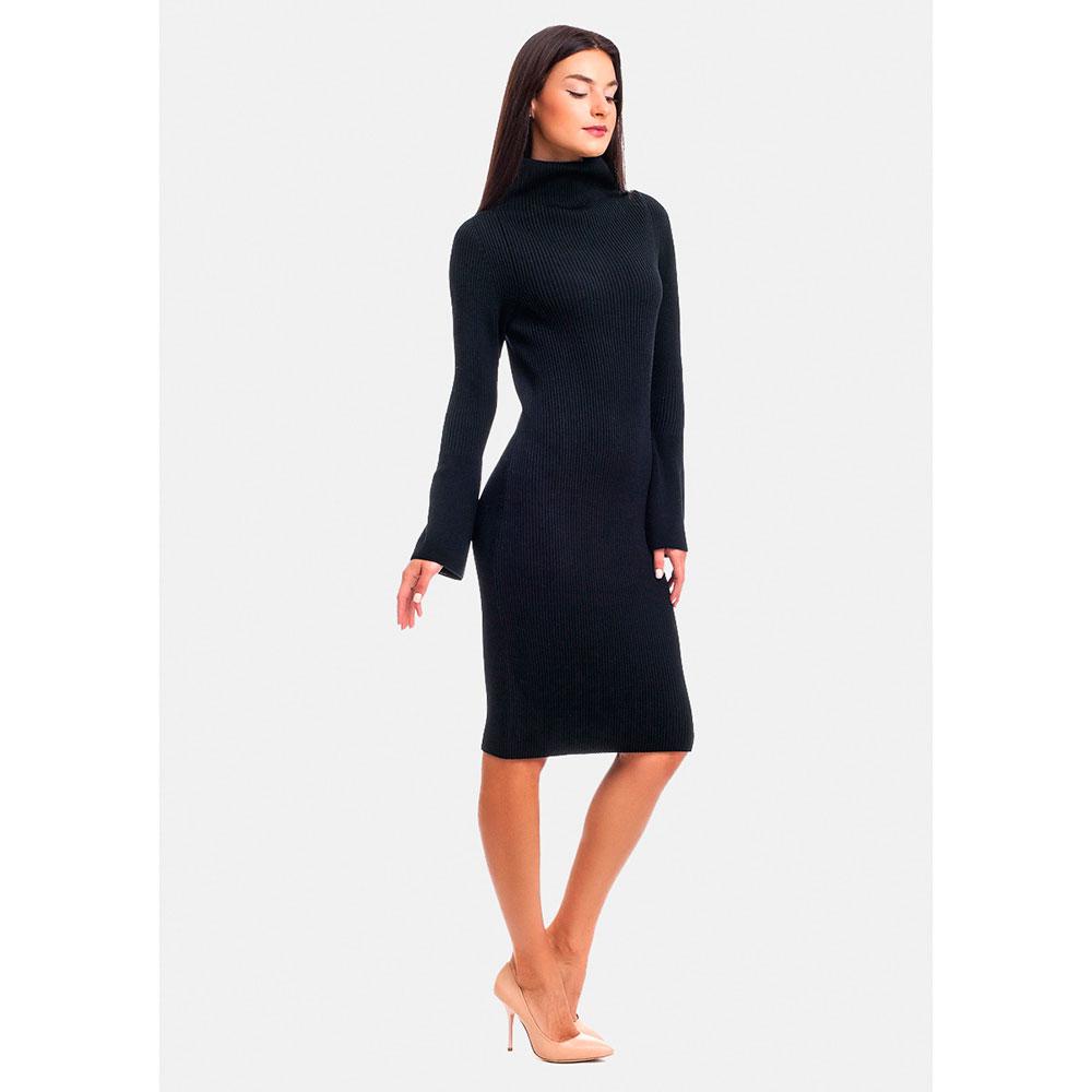 Платье RITO с высокой горловиной и длинными рукавами