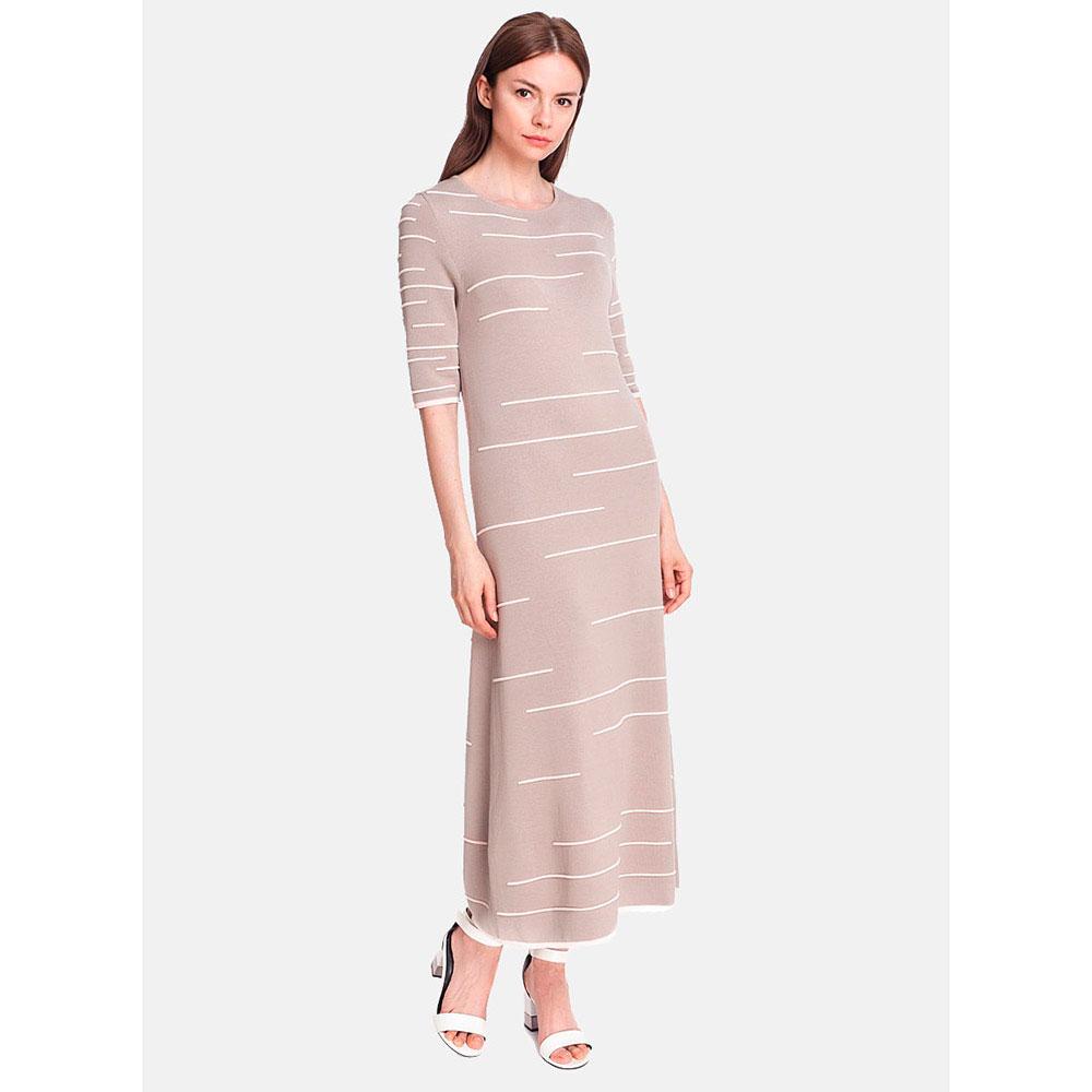 Трикотажное платье RITO с трапециевидной юбкой