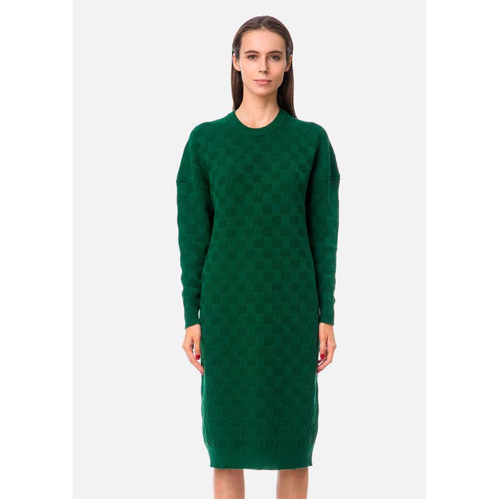 Платье-свитер RITO с круглой горловиной и объемными рукавами