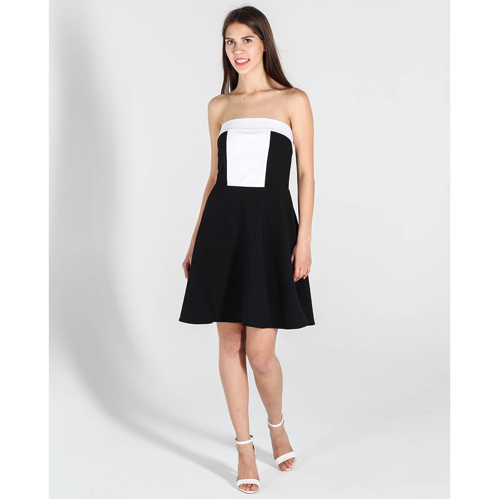 Черное платье Kristina Mamedova с открытыми плечами