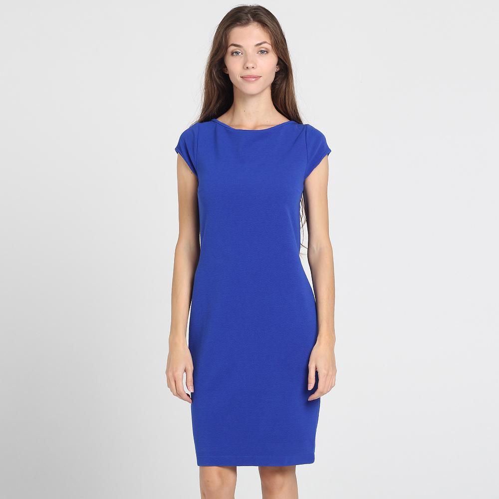 Синее платье Chiristina Effe с открытой спиной