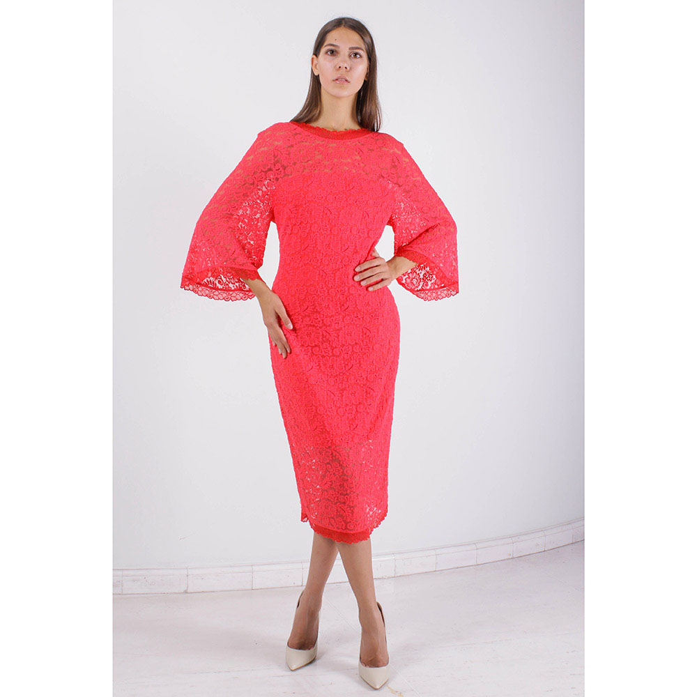 Кружевное платье FOREVER UNIQUE с рукавом-кимоно