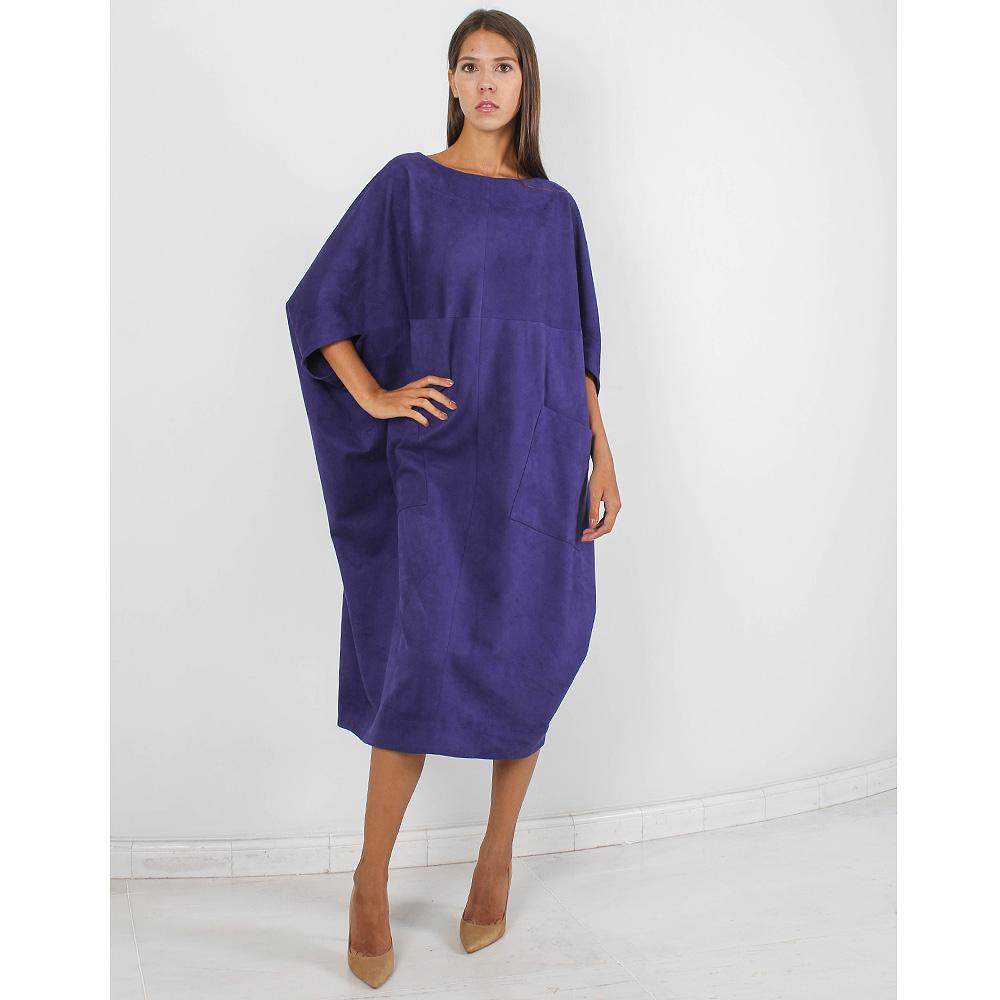 Платье-оверсайз Forever Unique синего цвета