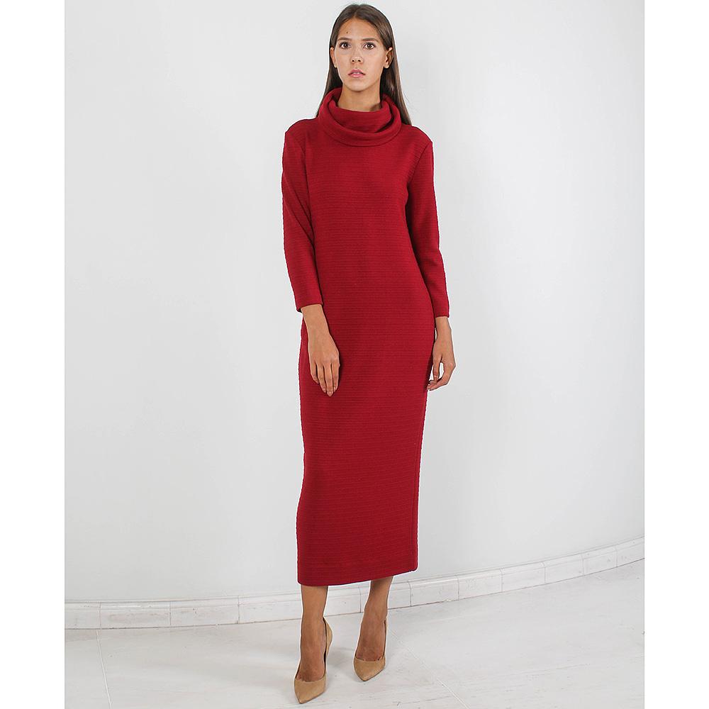 Трикотажное платье Forever Unique терракотового цвета