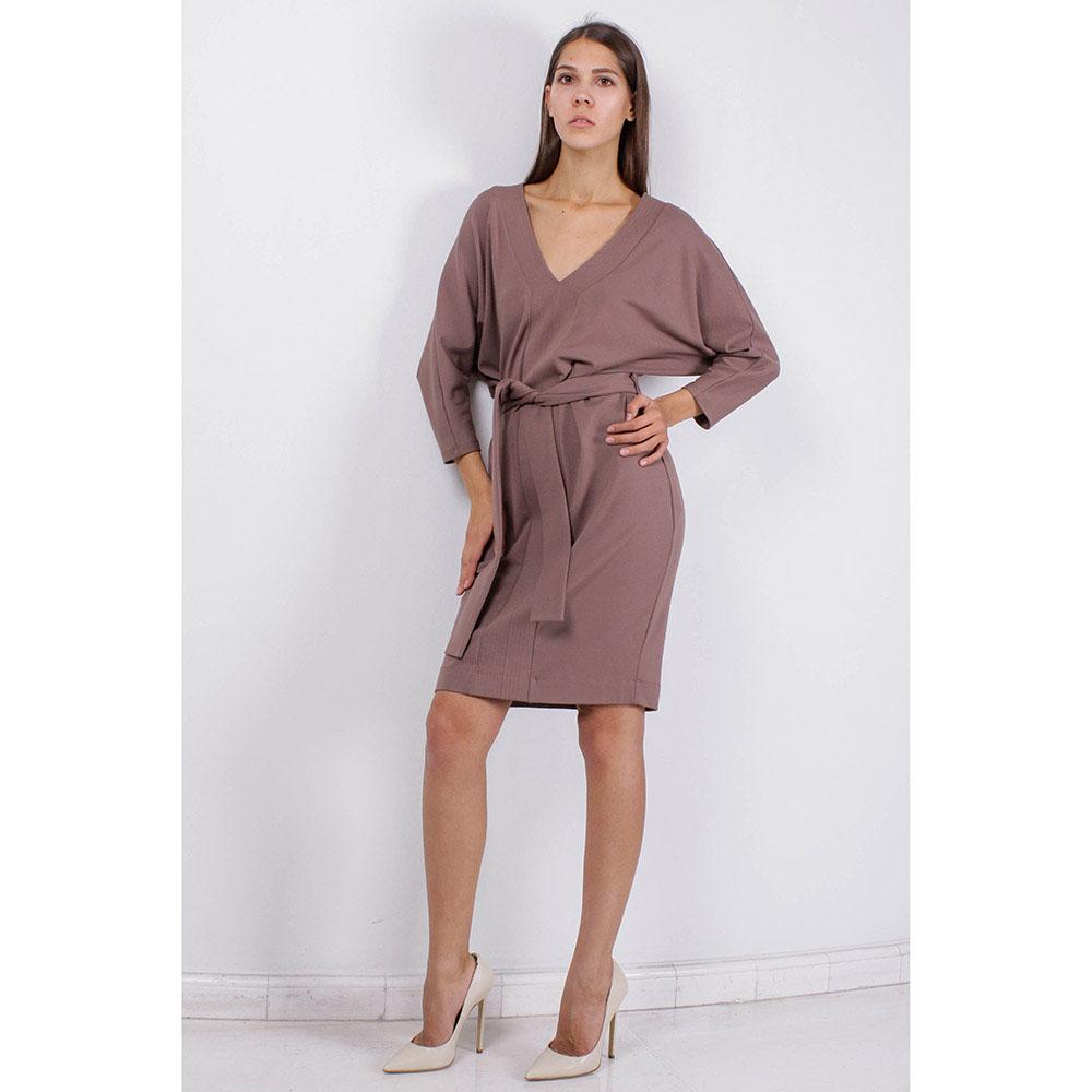 Платье со свободным верхом FOREVER UNIQUE коричневого цвета