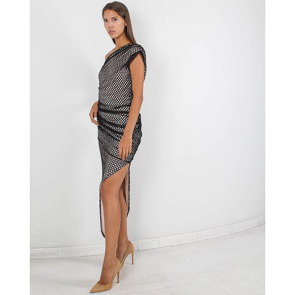 Коктейльное платье Forever Unique с высоким разрезом