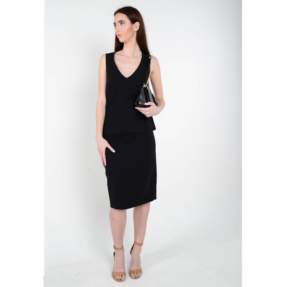 Платье без рукавов Iceberg черного цвета