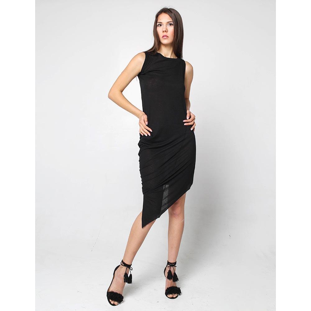 Трикотажное платье Joe Chia со скошенным низом