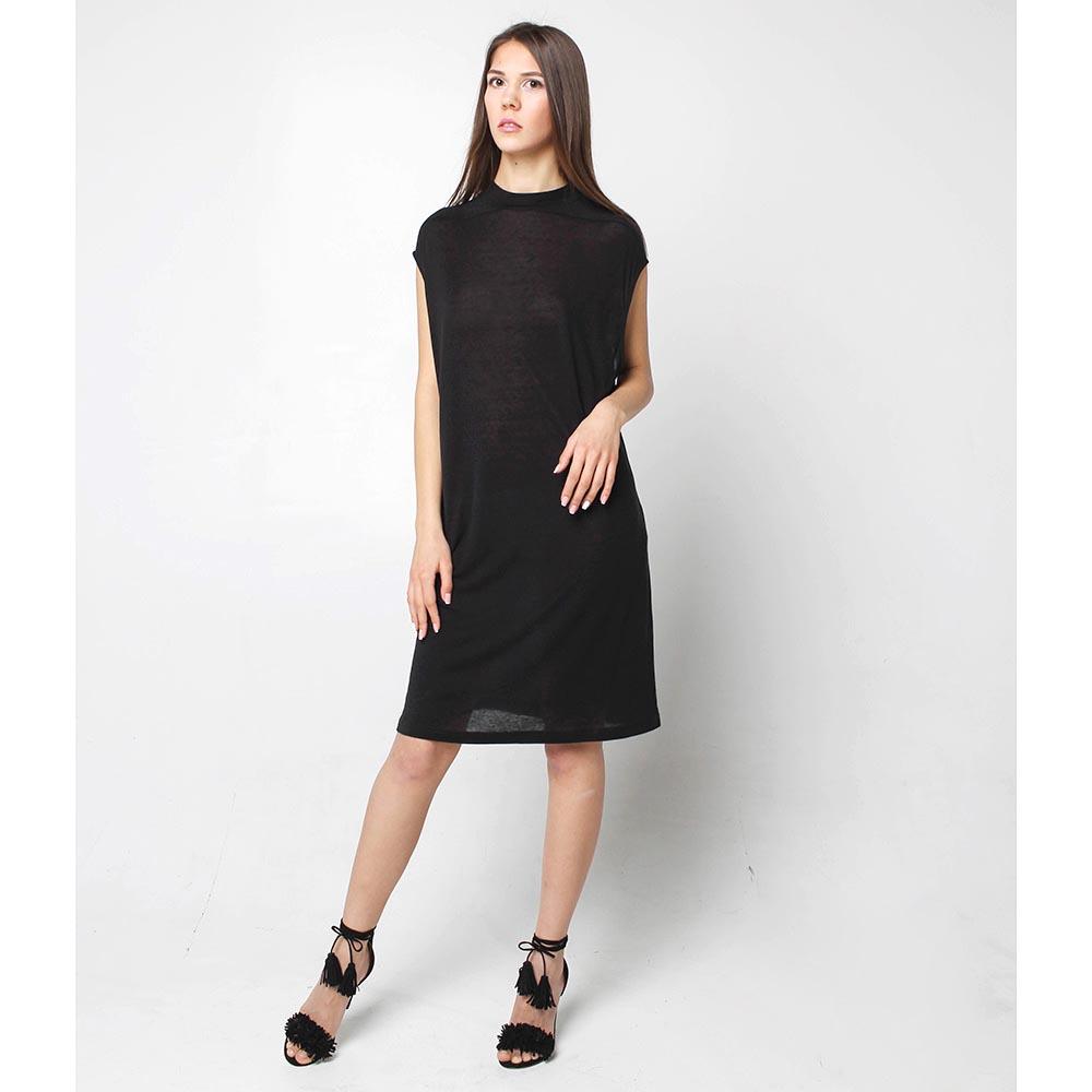 Платье Joe Chia черного цвета свободного кроя