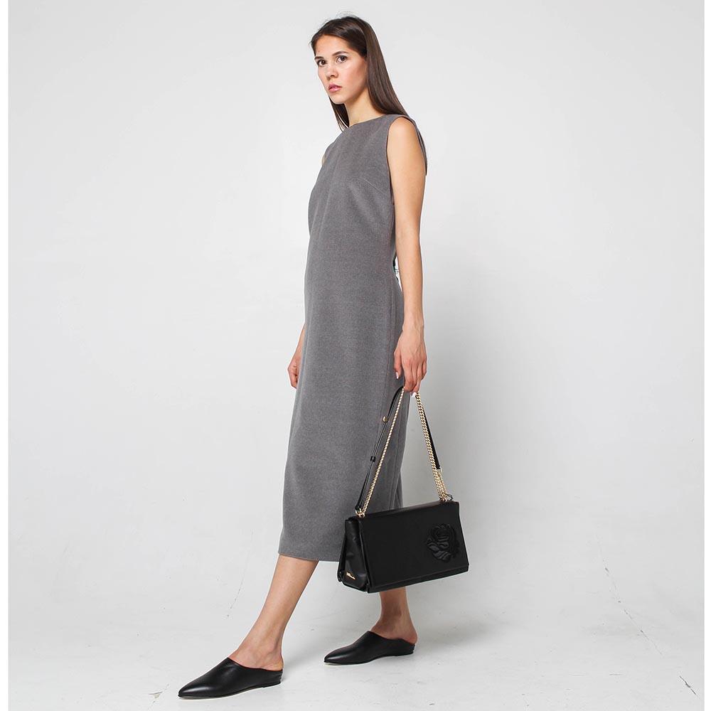Платье-миди Rena Lange Blue серого цвета