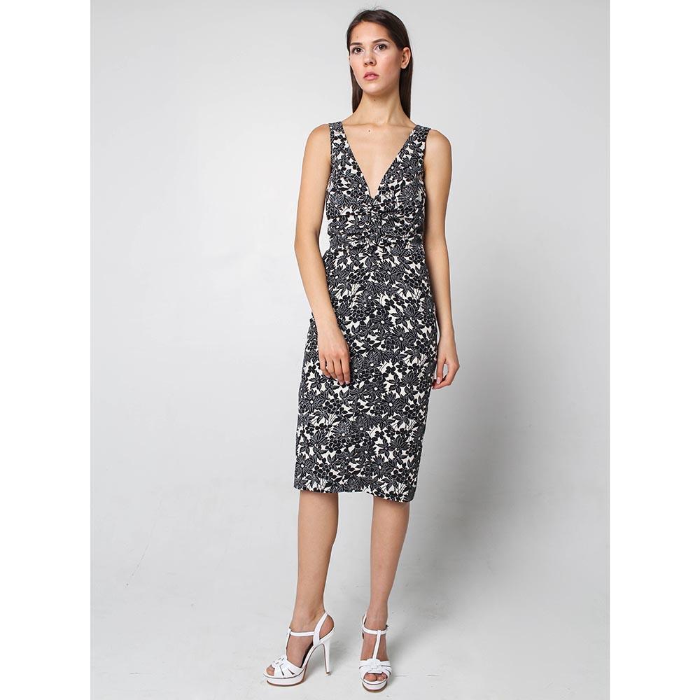 Платье-сарафан Joop! с черно-белым принтом