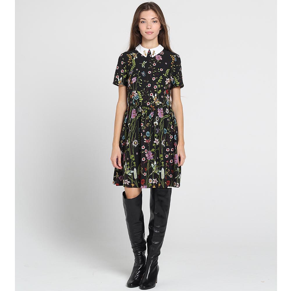 Платье Blugirl Blumarine с цветочным принтом