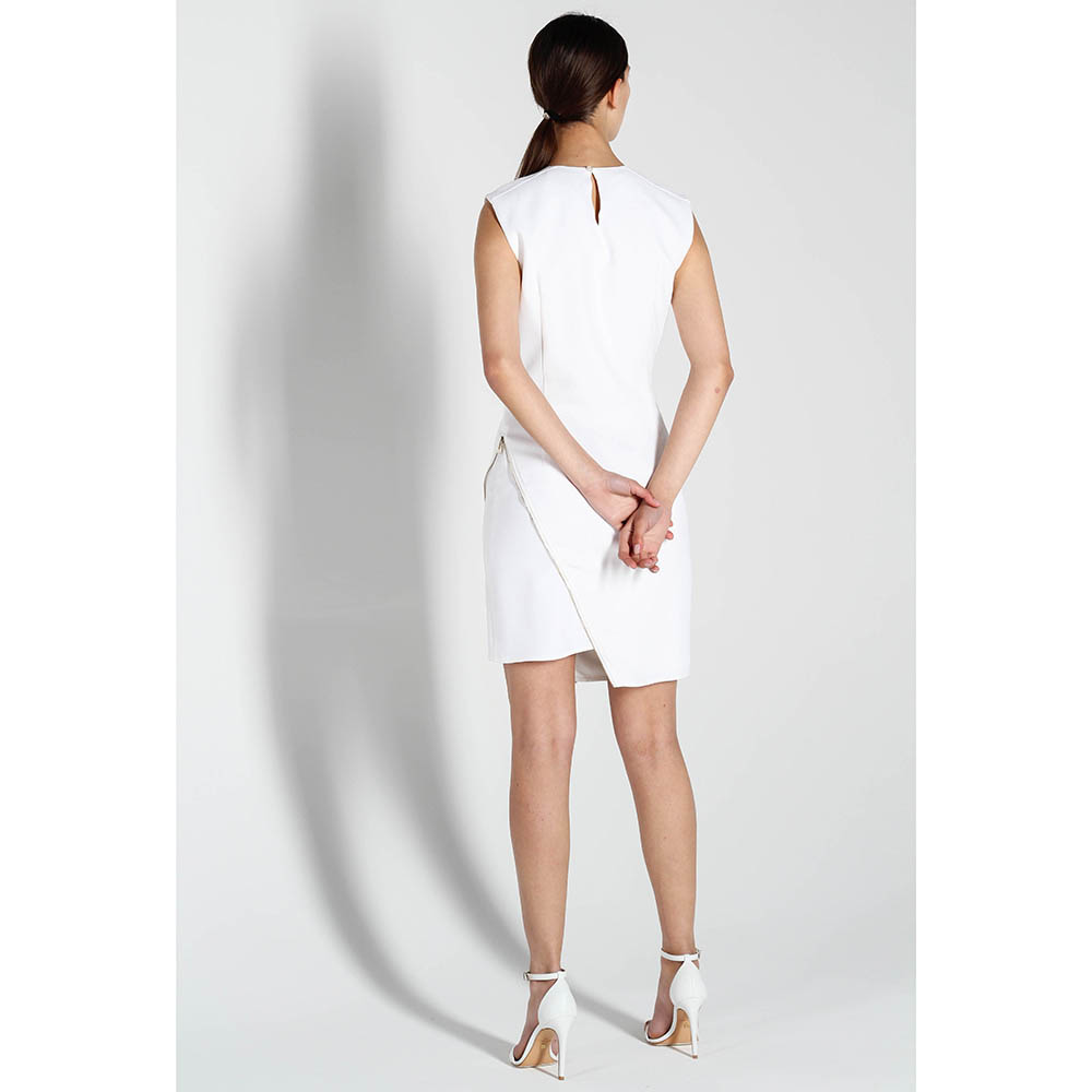 Асимметричное платье Elisabetta Franchi без рукава
