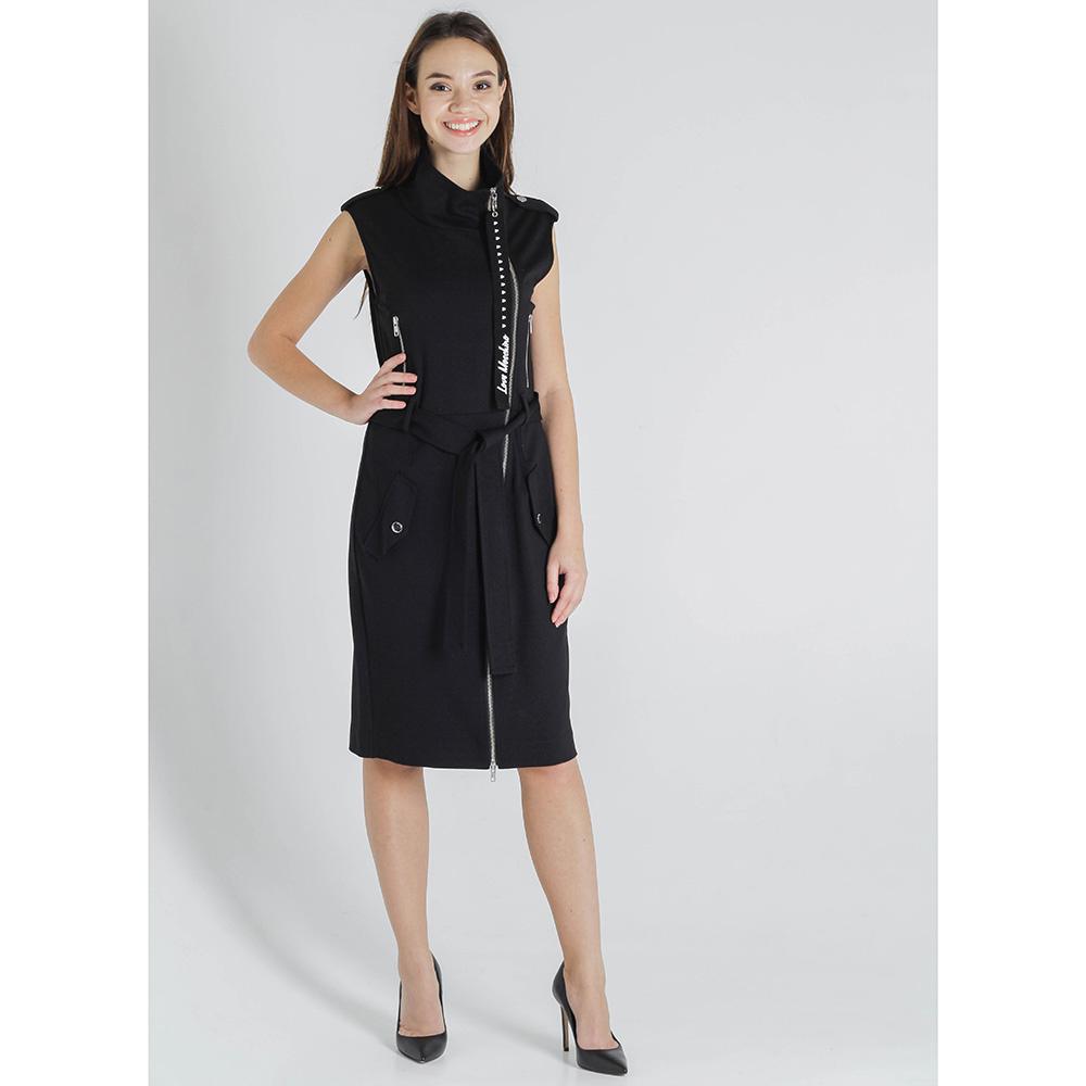 Платье-футляр Love Moschino без рукава на молнии