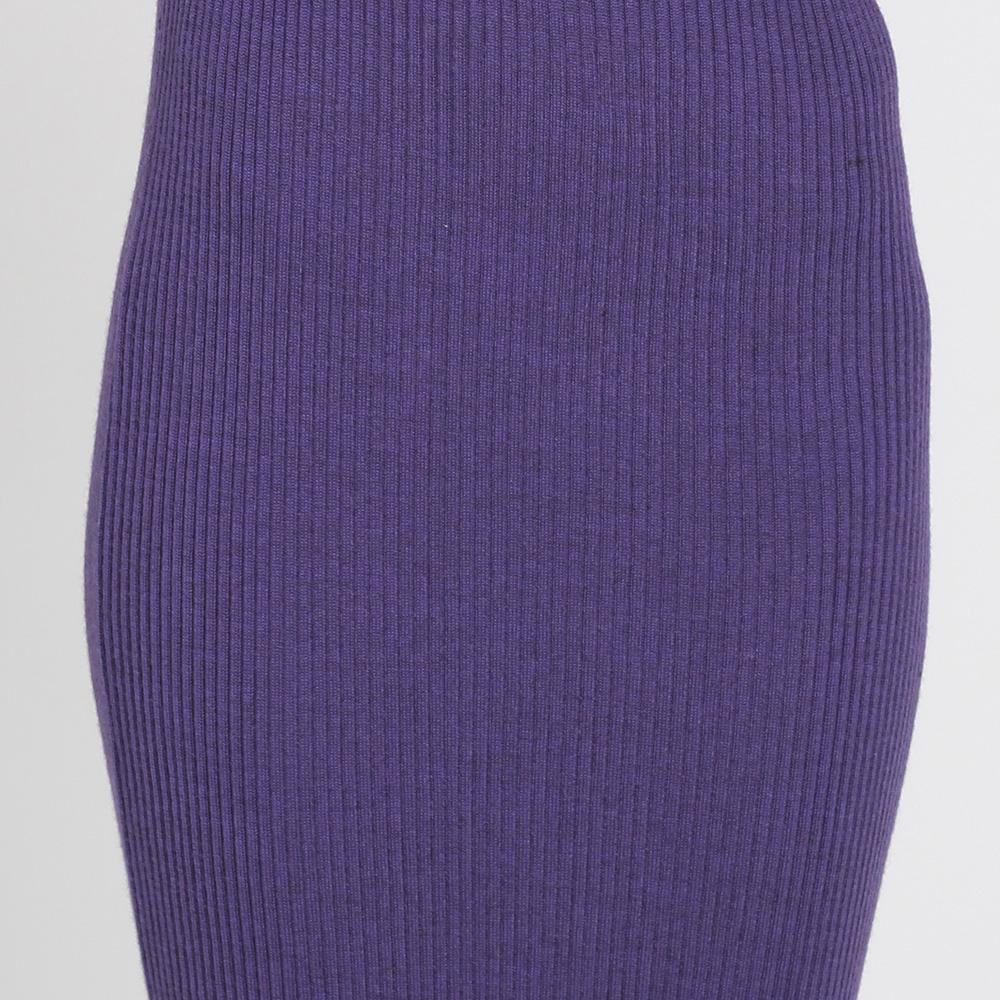 Трикотажное платье-миди Nit.ka фиолетового цвета