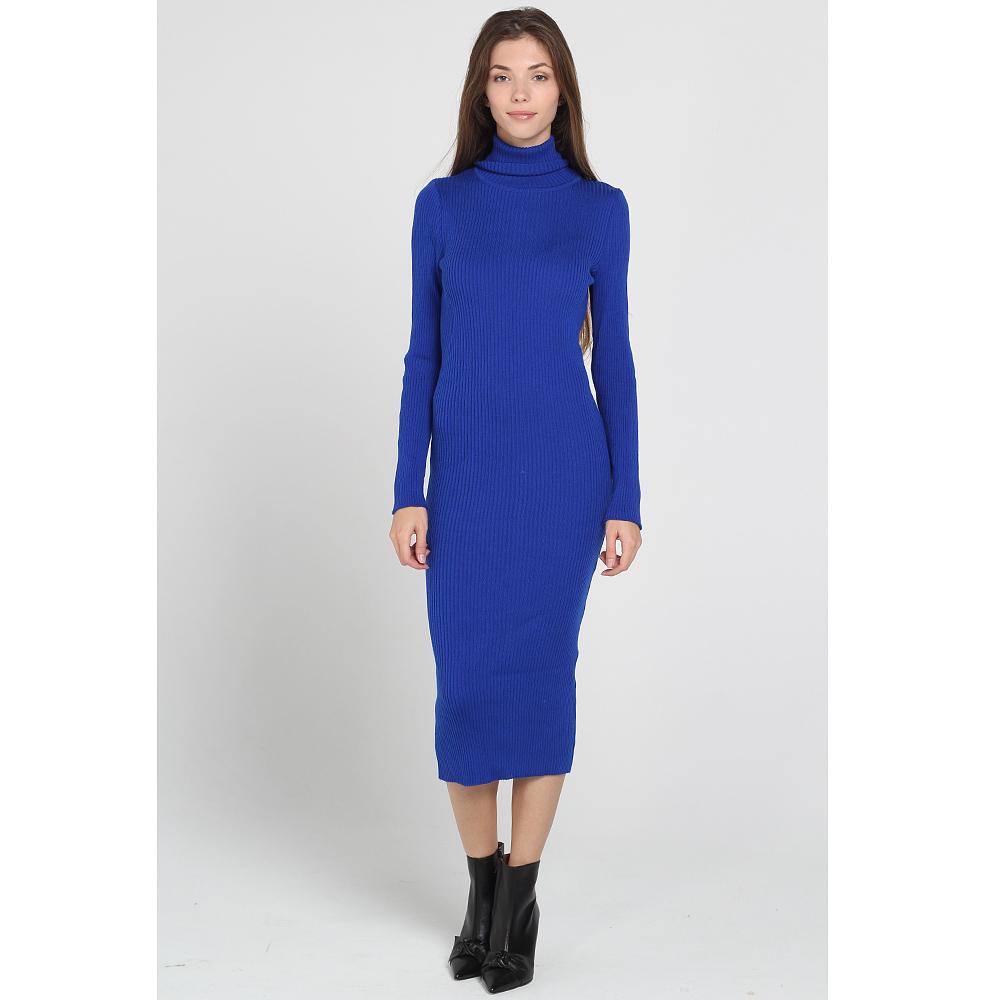 Трикотажное платье-миди Nit.ka ярко-синего цвета