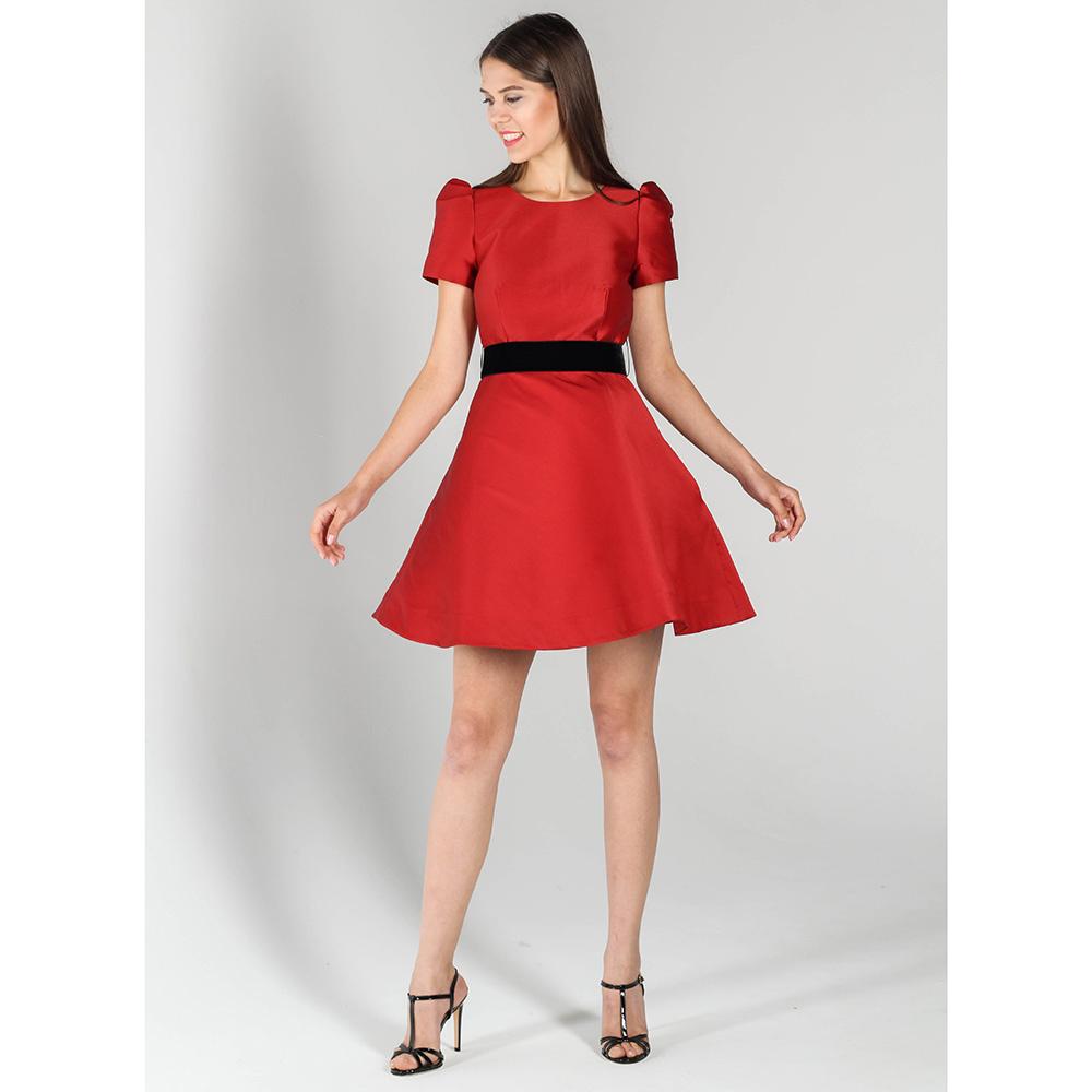 Платье-беби долл P.A.R.O.S.H. красного цвета