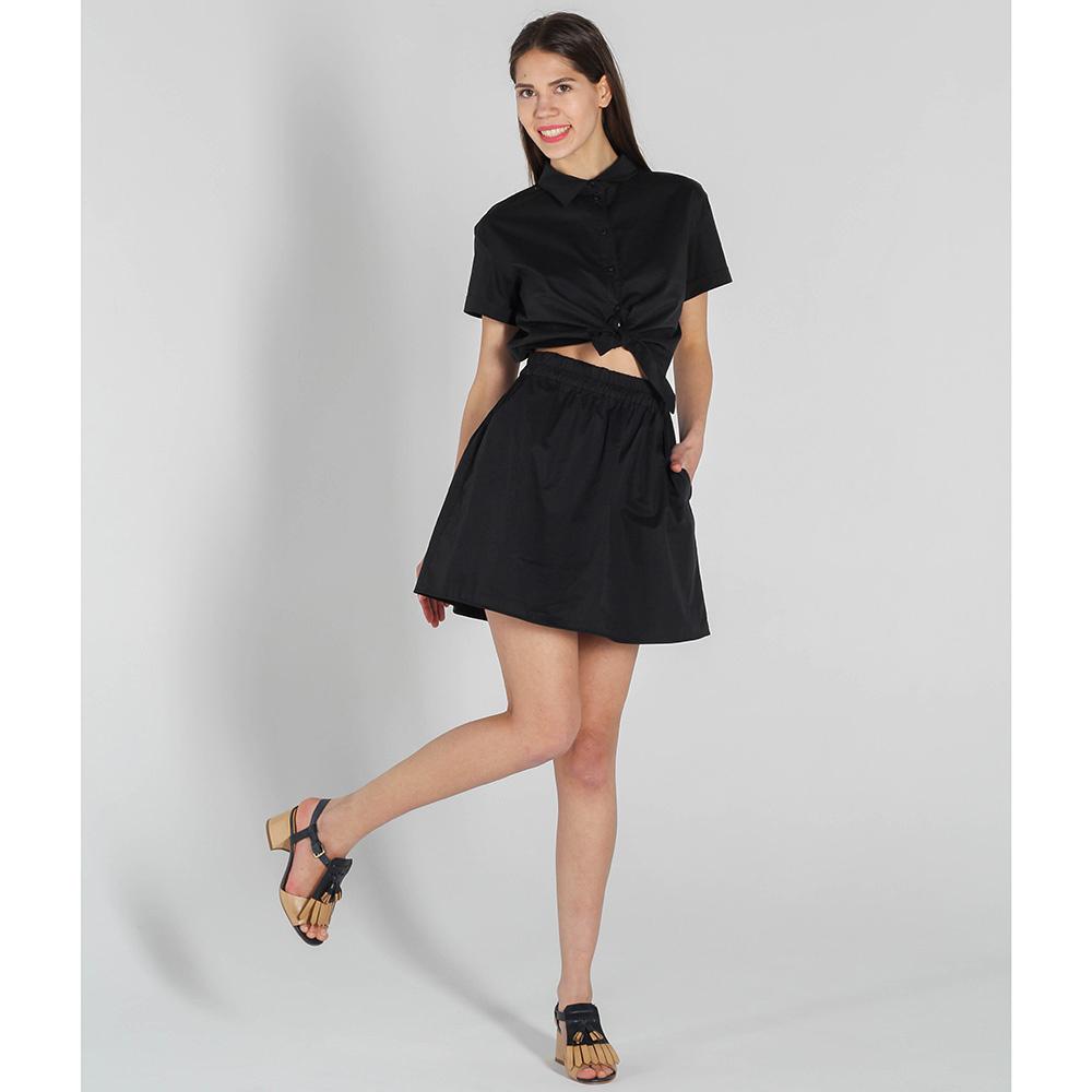 Платье Vigio черного цвета с открытым животом