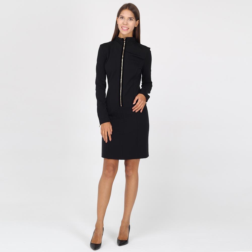 Платье-футляр Emporio Armani с молнией впереди