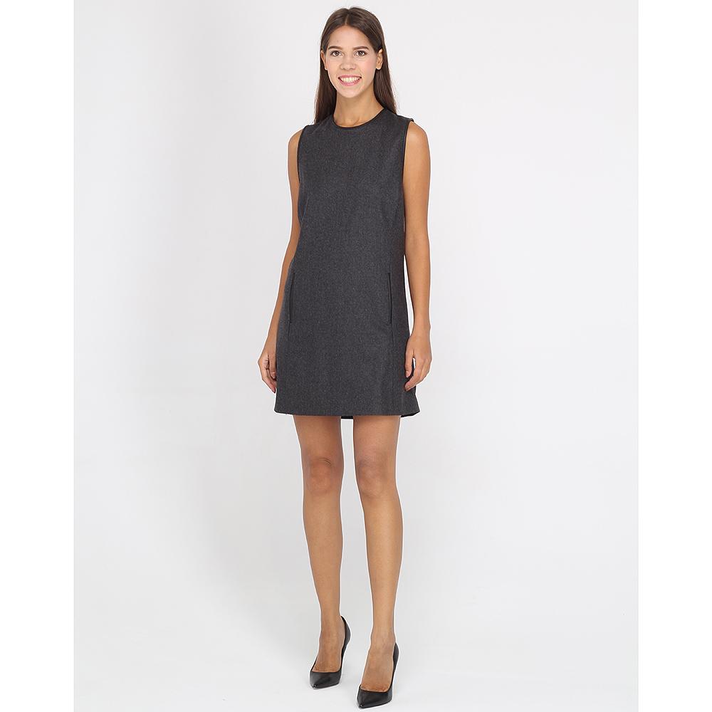 Платье-сарафан Polo Ralph Lauren из шерсти серого цвета
