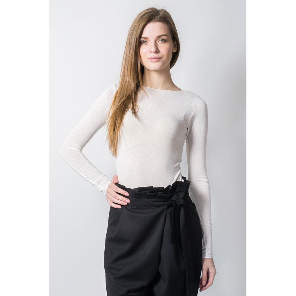 Тонкий пуловер Tensione in белого цвета