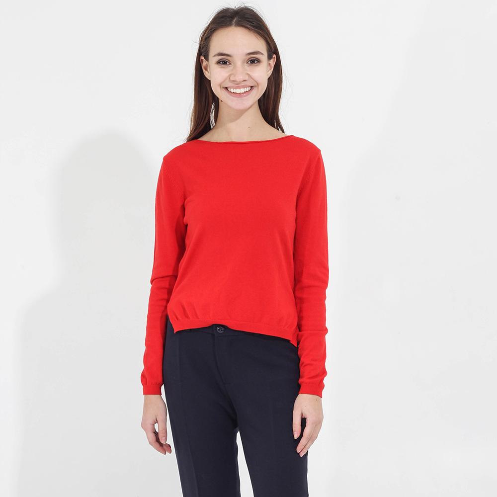 Джемпер Tensione in красного цвета