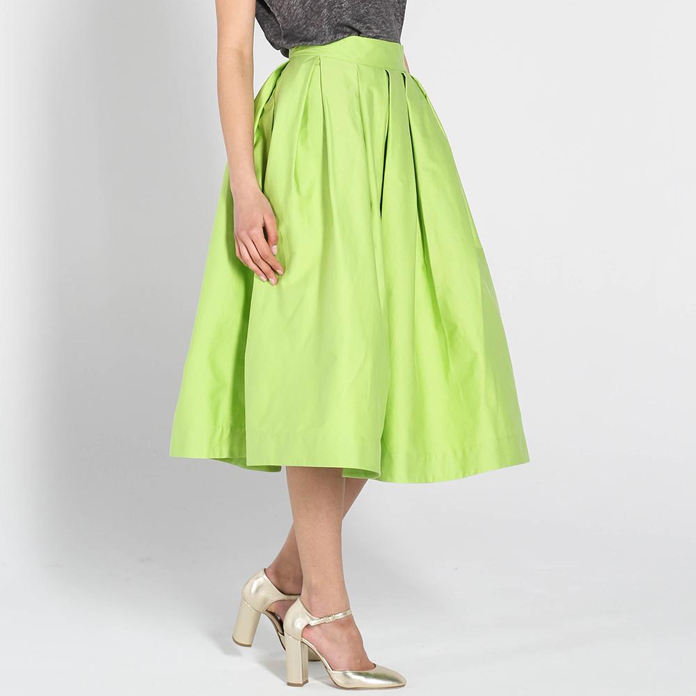 Пышная юбка Kristina Mamedova зеленого цвета