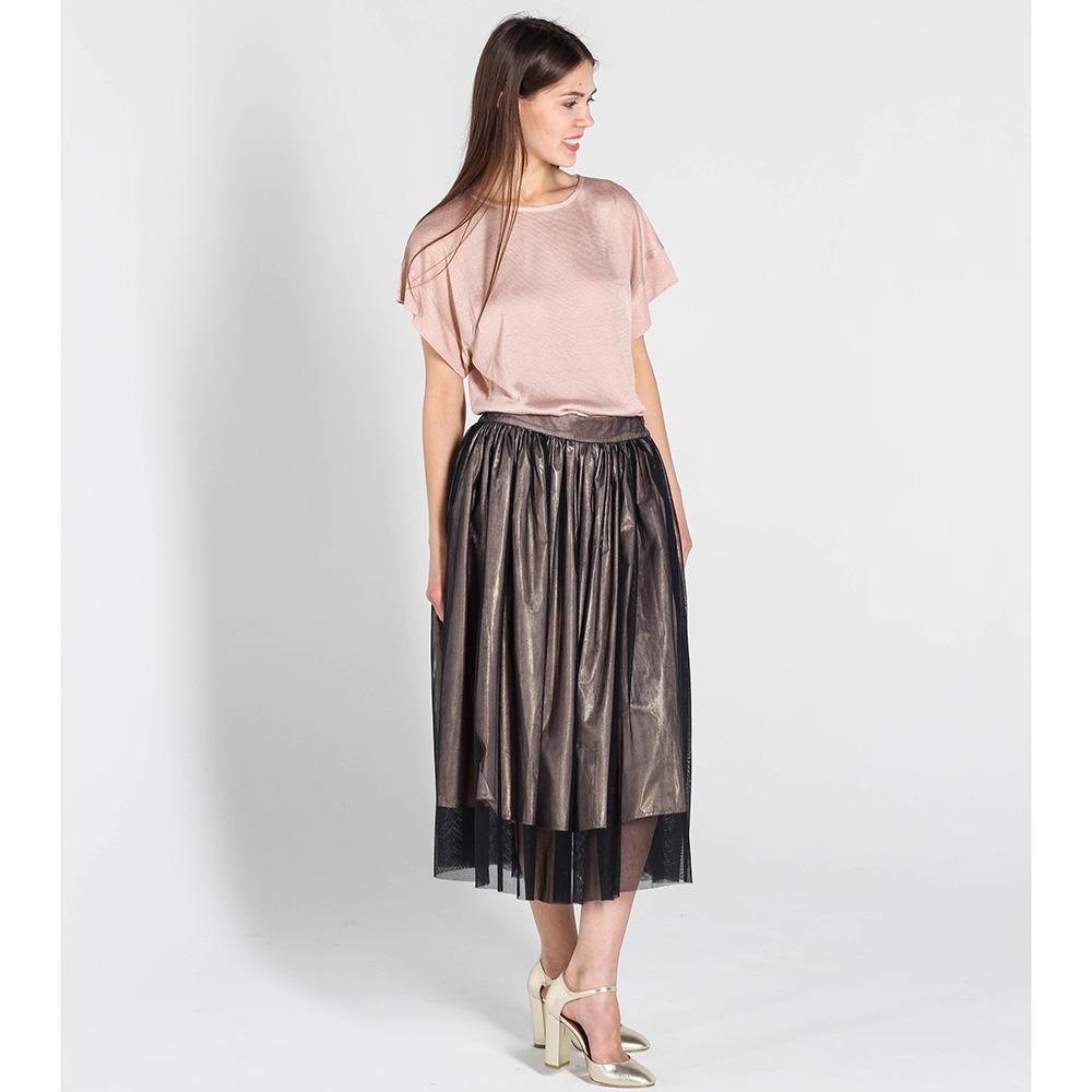 Пышная юбка Kristina Mamedova с верхней юбкой из сетки