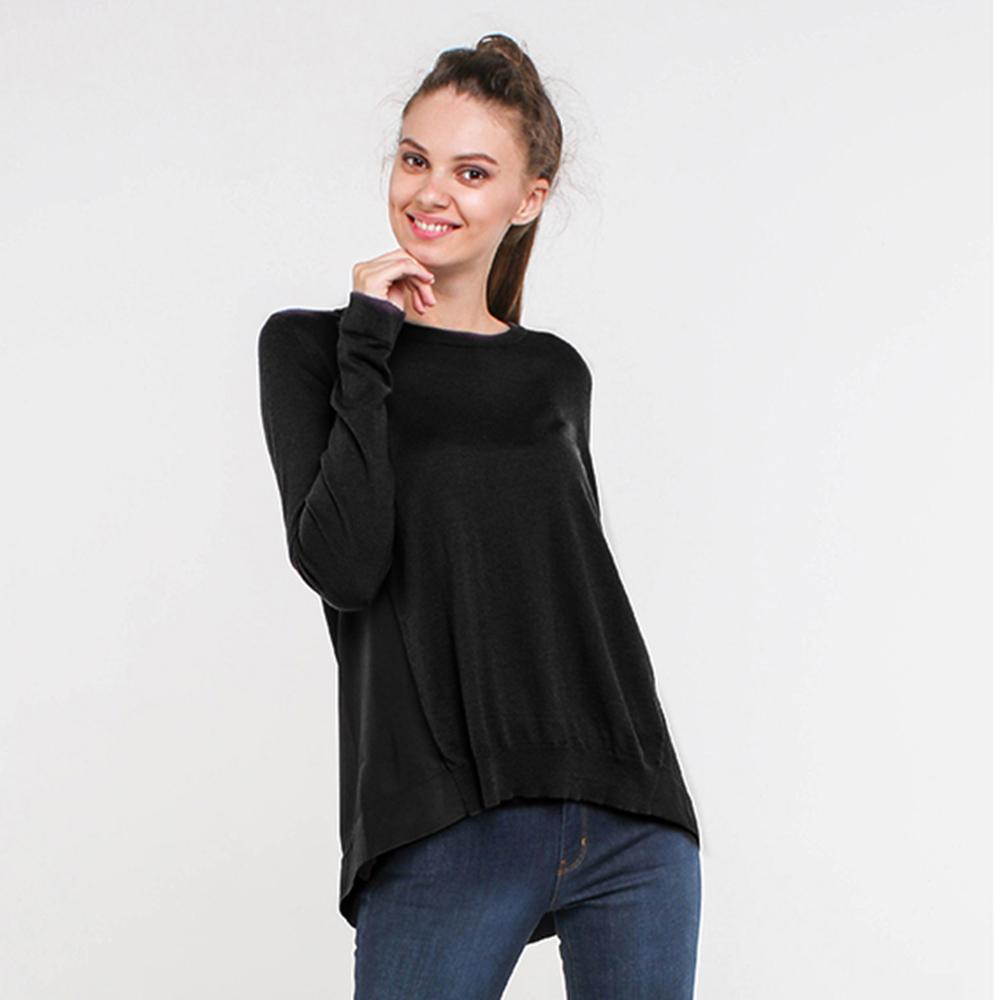 Джемпер Trussardi Jeans черного цвета