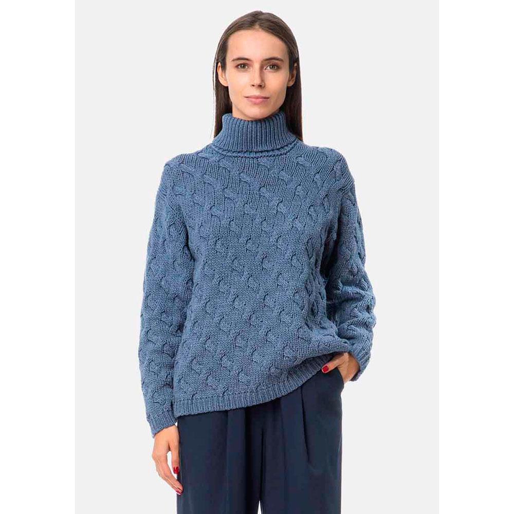 Свободный свитер RITO с крупным плетением