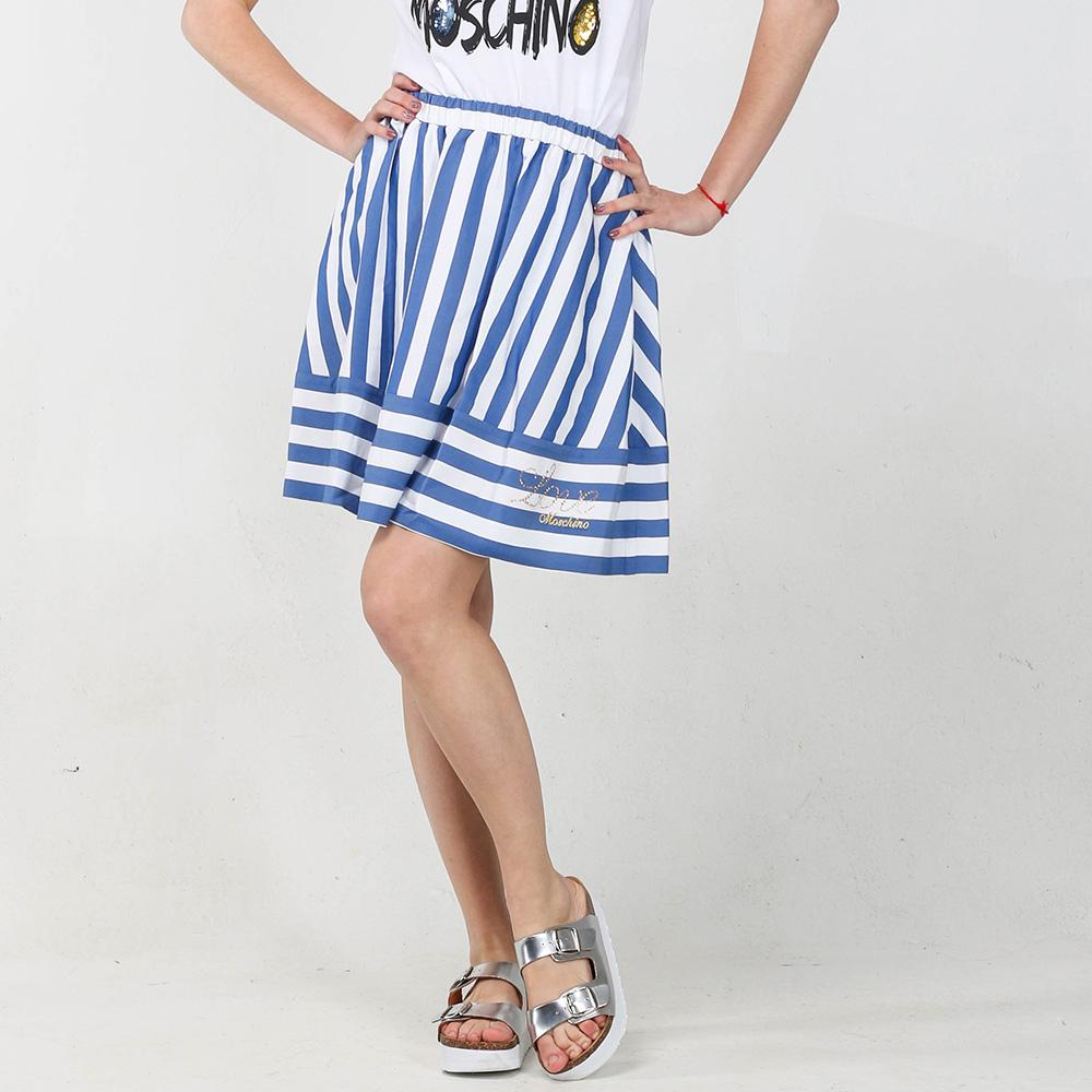 Юбка-трапеция Love Moschino с вышивкой