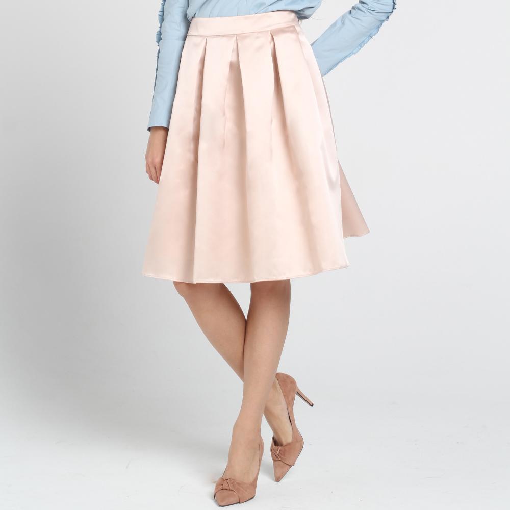 Расклешенная юбка Blugirl Blumarine розового цвета