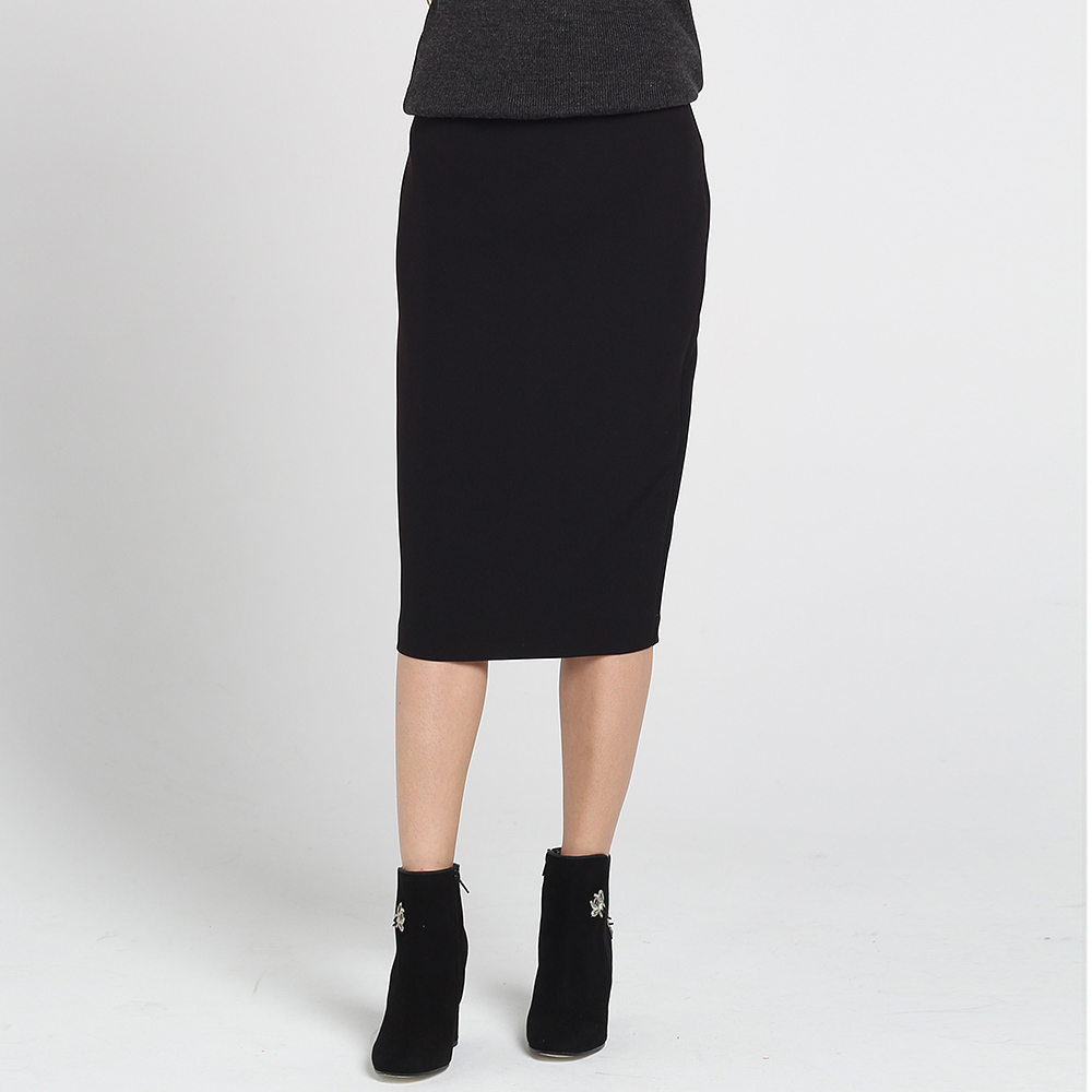 Юбка-карандаш Blugirl Blumarine черного цвета