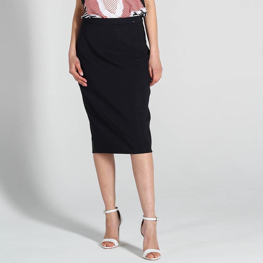 Черная юбка-карандаш Elisabetta Franchi