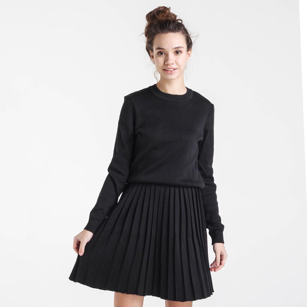 Однотонный свитер Nit.ka черного цвета