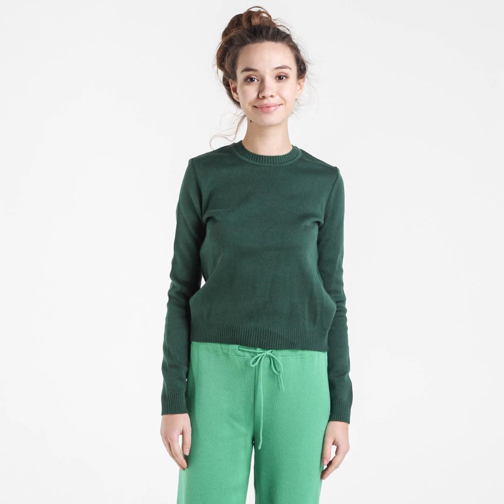 Однотонный свитер Nit.ka зеленого цвета