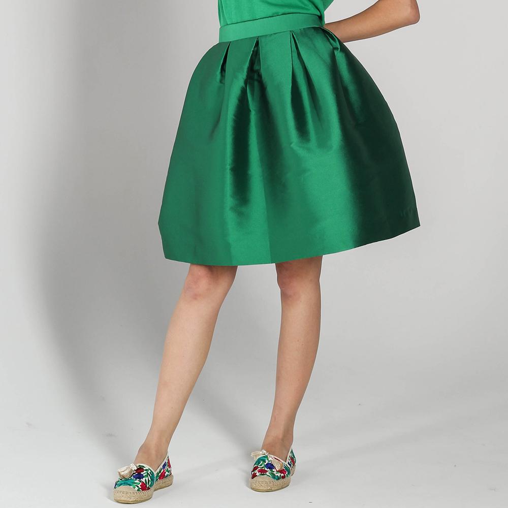Юбка-тюльпан P.A.R.O.S.H. зеленого цвета